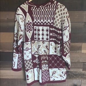 Fall beautiful vintage sweater/dress